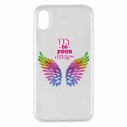 Чохол для iPhone X/Xs Fly to your dream