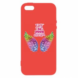 Чохол для iphone 5/5S/SE Fly to your dream