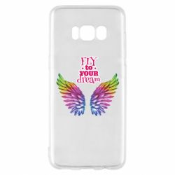 Чохол для Samsung S8 Fly to your dream