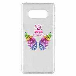 Чехол для Samsung Note 8 Fly to your dream