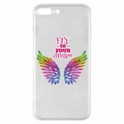 Чехол для iPhone 8 Plus Fly to your dream