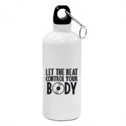 Фляга Beat control your body - FatLine