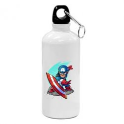 Фляга Cartoon Captain America
