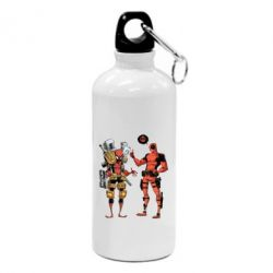 Фляга Deadpool and Spiderman