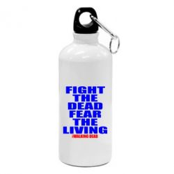 Фляга Fight the dead fear the living - FatLine