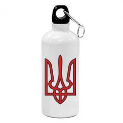 Фляга Герб України (двокольоровий) - FatLine