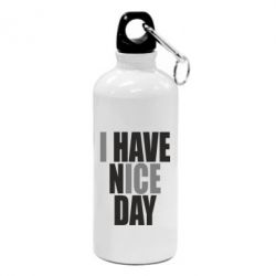 Фляга I have nice day - FatLine