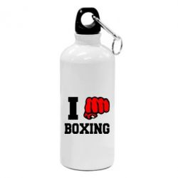 Фляга I love boxing - FatLine