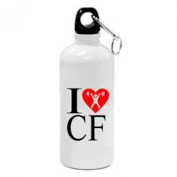 Фляга I love CF - FatLine