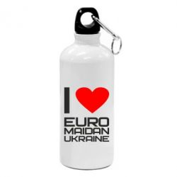 Фляга I love Euromaydan Ukraine - FatLine