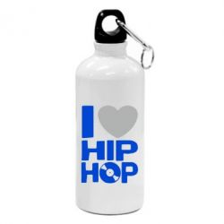 Фляга I love hip-hop - FatLine