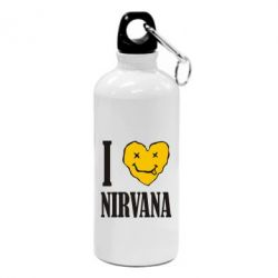 Фляга I love Nirvana - FatLine