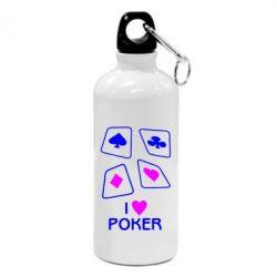 Фляга I love poker