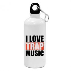 Фляга I love TRAP Music
