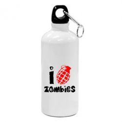 Фляга I love zombies - FatLine