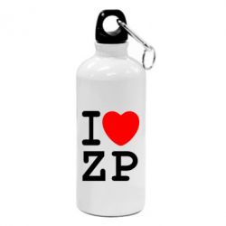 Фляга I love ZP - FatLine