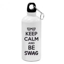 Фляга KEEP CALM and BE SWAG