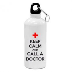 Фляга KEEP CALM and CALL A DOCTOR