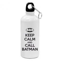 Фляга KEEP CALM and CALL BATMAN