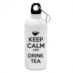 Фляга KEEP CALM and drink tea - FatLine