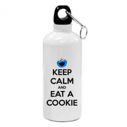 Фляга Keep Calm and Eat a cookie - FatLine