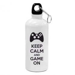 Фляга KEEP CALM and GAME ON - FatLine