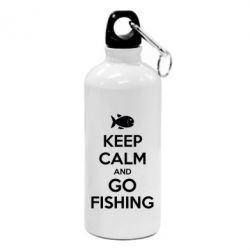 Фляга Keep Calm and go fishing