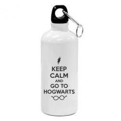 Фляга KEEP CALM and GO TO HOGWARTS