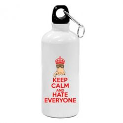Фляга KEEP CALM and HATE EVERYONE - FatLine