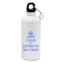 Фляга KEEP CALM and LISTEN to WU-TANG - FatLine