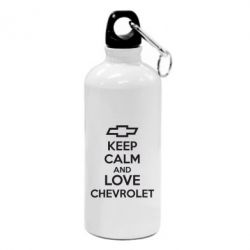 Фляга KEEP CALM AND LOVE CHEVROLET - FatLine