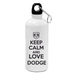 Фляга KEEP CALM AND LOVE DODGE