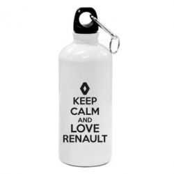 Фляга KEEP CALM AND LOVE RENAULT - FatLine