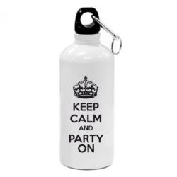 Фляга KEEP CALM and PARTY ON