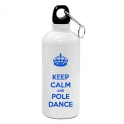 Фляга KEEP CALM and pole dance - FatLine