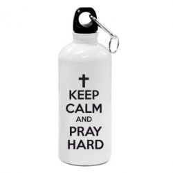 Фляга KEEP CALM and PRAY HARD - FatLine