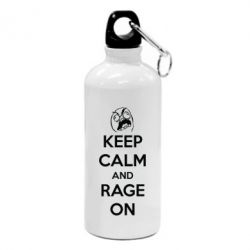 Фляга KEEP CALM and RAGE ON - FatLine