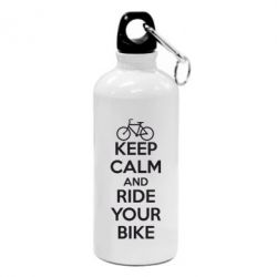 Фляга KEEP CALM AND RIDE YOUR BIKE