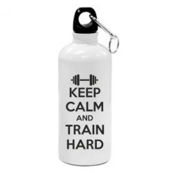 Фляга KEEP CALM and TRAIN HARD - FatLine