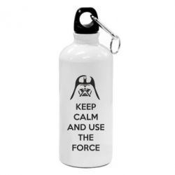 Фляга Keep Calm and use the Force - FatLine