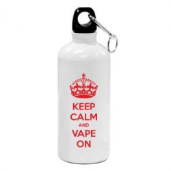 Фляга KEEP CALM and VAPE ON