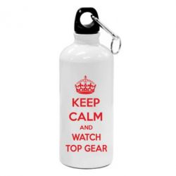 Фляга KEEP CALM and WATCH TOP GEAR - FatLine