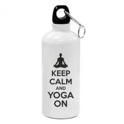 Фляга KEEP CALM and YOGA ON - FatLine