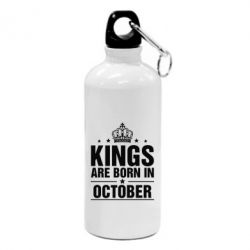 Фляга Kings are born in October - FatLine