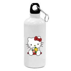 Фляга Kitty с букетиком - FatLine