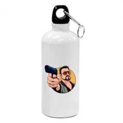 Фляга Лебовськи з пістолетом