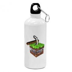 Фляга Minecraft Logo Сube - FatLine