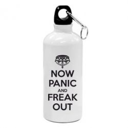 Фляга NO PANIC and FREAK OUT