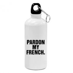 Фляга Pardon my french. - FatLine