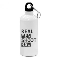 Фляга Real Men Shoot RAW